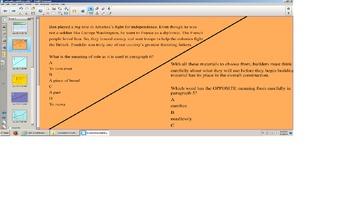 Reading Smartboard Lesson, Context Clues, Vocab, prefix,su