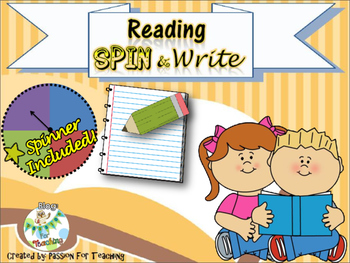 Reader's Response Game: Spin and Write