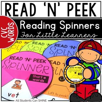 Reading Spinners - CVC Words