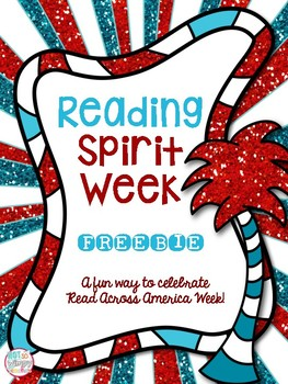 Reading Spirit Week FREEBIE