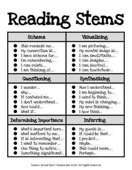 Reading Stems