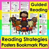 Guided Reading: Reading Strategies Bookmark & Large Focus Cards