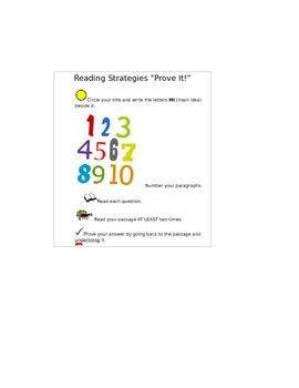 Reading Strategies Cards