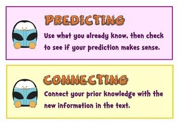 Reading Strategies: Classroom Signs