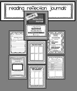 Reading Strategies Daily Reflection Journal