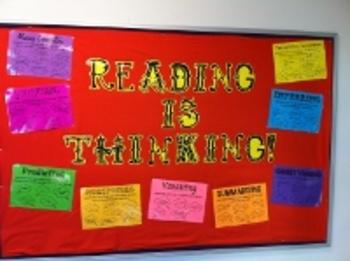 Reading Strategies Display Posters