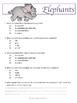 Reading Strategies: Elephant Article