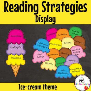 Reading Strategies Ice-Cream