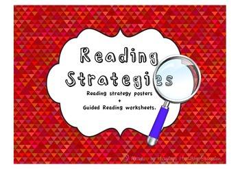 Reading Strategies Posters + Worksheets