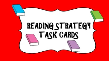 Reading Strategies Task Cards for use with Newbery or AR books
