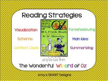 Reading Strategies Using Text from Wonderful Wizard of Oz