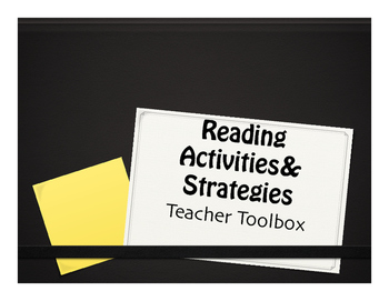 Reading Strategies and Activities