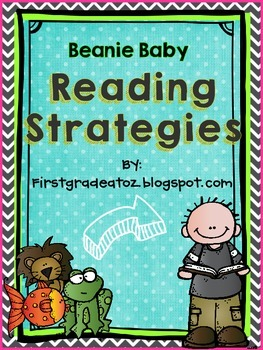 Chevron and Polkadots Reading strategies