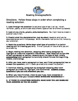 Reading Strategies for 5th Graders