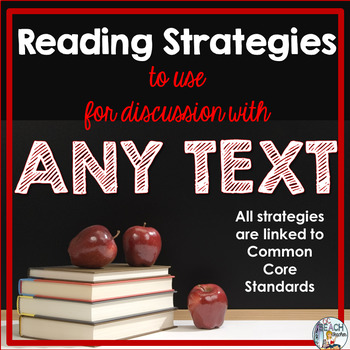 Reading Strategies for Any Text: Teacher Toolkit