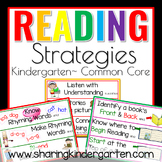 Reading Strategies for Kindergarten Common Core