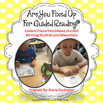 Are You Fixed Up for Guided Reading? Grades K-3