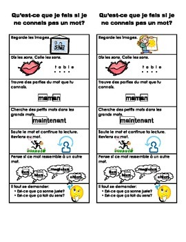 Reading Strategies in French
