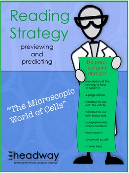 Reading Strategies in Science: Cells