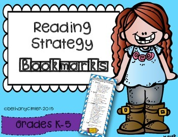 Reading Strategy Bookmarks!