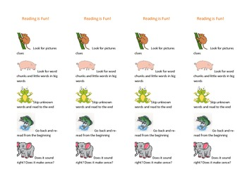Reading Strategy Bookmarks-4