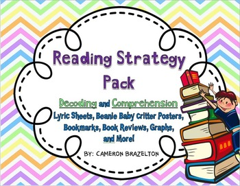 Reading Strategy Pack (Beanie Baby, Comprehension, Decodin