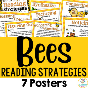 Bee Theme: Reading Strategy Posters