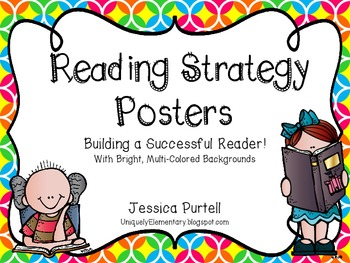 Reading Strategy Posters: Building A Better Reader!  (Mult