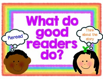 Reading Strategy Posters for Guided Reading