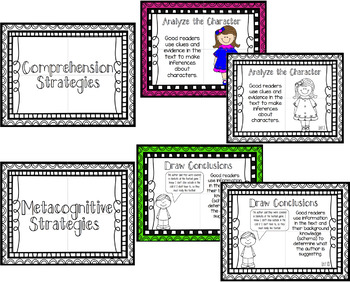 Reading Strategy Posters that can accompany the Benchmark