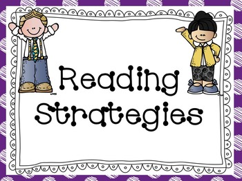 Reading Strategy Posters with Melonheadz Graphics