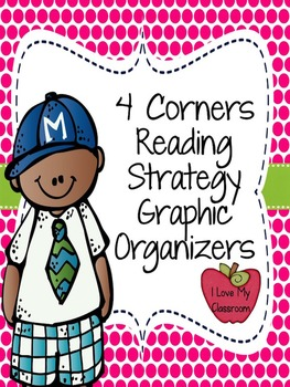 Reading Strategy Sheets: Four Corner Style {11 Strategy Sp