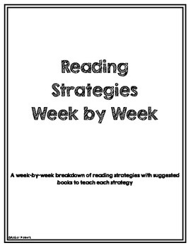 Reading Strategy Instruction and Worksheets