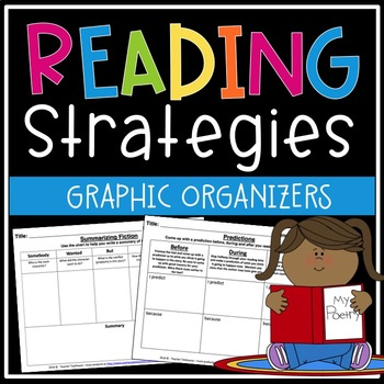 Reading Strategy Worksheet Bundle (Save $ by Purchasing as