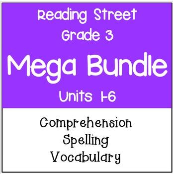 Reading Street Grade 3 Mega Bundle