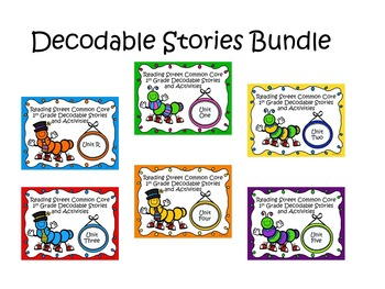 Reading Street 2013 Decodable Reader Stories and Activitie