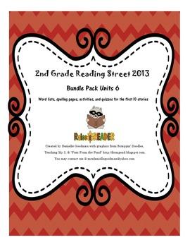 Reading Street 2013 Grade 2, Unit 6 Bundle Pack
