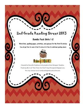Reading Street 2013 Grade 2 Units 1-2 Bundle Pack