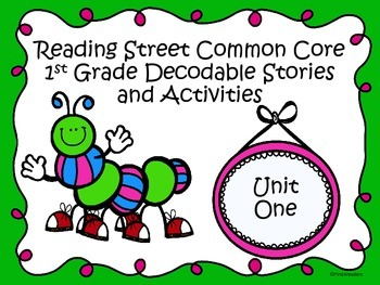 Reading Street 2013 Unit 1 Decodable Reader Stories and Ac