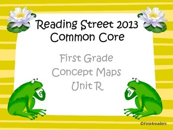 Reading Street 2013 Unit R Concept Maps
