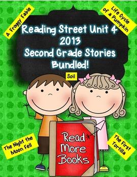 Reading Street 2nd Grade 2013 Unit 4 Stories Bundled!