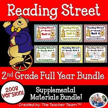 Reading Street 2nd Grade Unit 1-6 Full Year Supplemental M