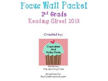 Reading Street 2nd Grade Unit 1 Weeks 1-5 Focus Wall Bundle