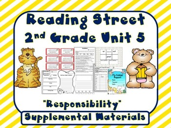 Reading Street 2nd Grade Unit 5 Supplemental Materials
