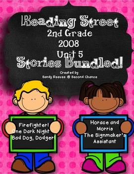 Reading Street 2nd Grade Unit 5 Stories 2008 Bundled!