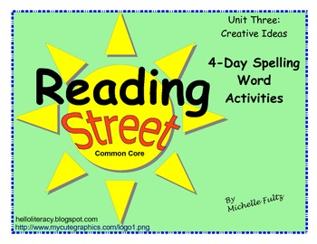 Reading Street 2nd grade Spelling for Unit 3