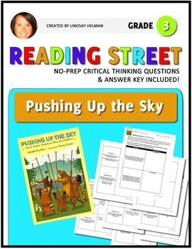 Reading Street 3rd Grade: Pushing Up the Sky [NO PREP Comp