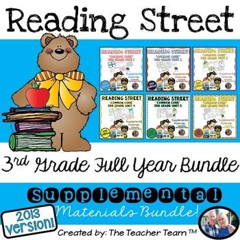Reading Street Common Core 3rd Grade Units 1-6 Full Year B