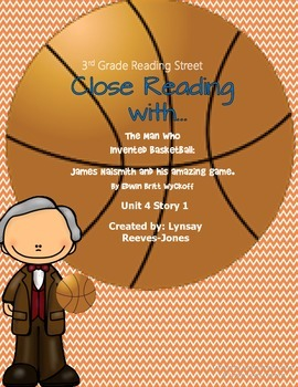 Reading Street 3rd grade The Man Who Invented Basketball