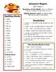 Reading Street 3rd grade Unit 5 Review sheets bundle